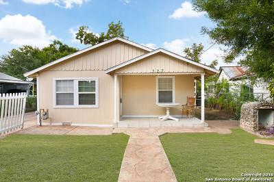 San Antonio Single Family Home Back on Market: 327 Queretaro St