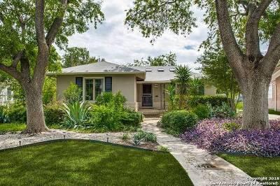 San Antonio Single Family Home Back on Market: 154 W Mandalay Dr