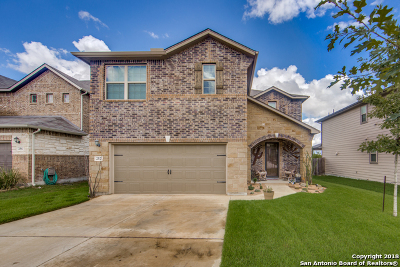 Cibolo Single Family Home Active Option: 252 Heavenly View