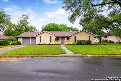 Windcrest Single Family Home New: 625 Balfour Dr