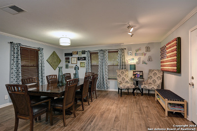 San Antonio Single Family Home Back on Market: 6842 Hogans Trail