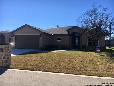 New Braunfels Single Family Home For Sale: 103 Ellis Maples