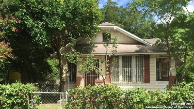 San Antonio TX Single Family Home Back on Market: $84,900