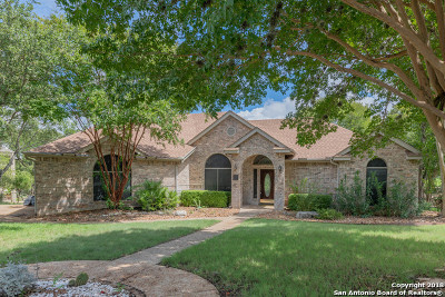 Bexar County Single Family Home New: 8639 Fairway Green Dr