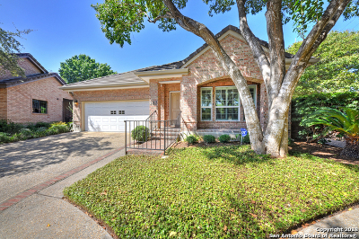 San Antonio Single Family Home Active Option: 143 Haverhill Way