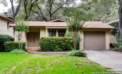 Bexar County Single Family Home New: 725 Imlay St