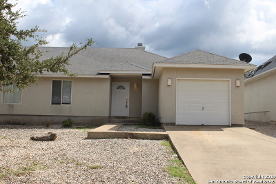 Canyon Lake Single Family Home New: 324 Watts Ln