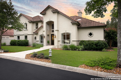 San Antonio Single Family Home New: 8 Tournament Green