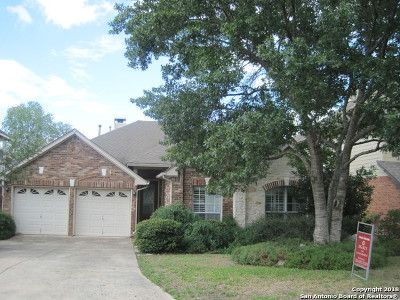 San Antonio Single Family Home New: 535 Mesa Bluff