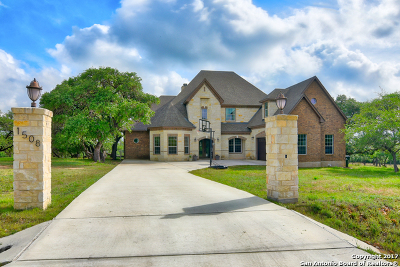 Canyon Lake Single Family Home New: 1508 Rebecca Ranch Rd