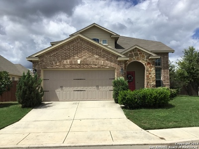 San Antonio Single Family Home Active Option: 9923 Sun Mill