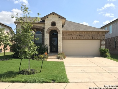Cibolo Single Family Home New: 244 Albarella