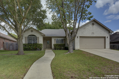 New Braunfels Single Family Home Active Option: 2073 Stonecrest Path