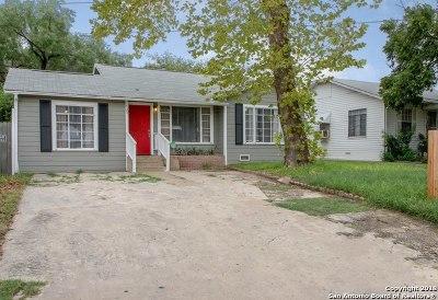San Antonio Single Family Home Back on Market: 435 Ward Ave
