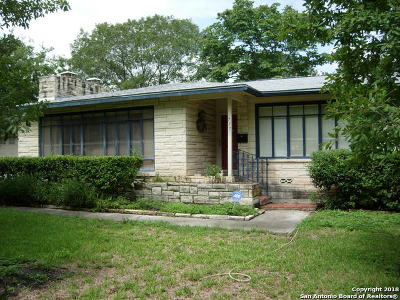 Bexar County Single Family Home New: 717 Canterbury Hill St