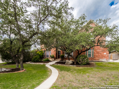 San Antonio Single Family Home New: 22207 Navasota Circle