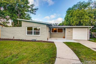 San Antonio Single Family Home New: 742 E Nottingham Dr