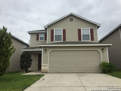 Bexar County Single Family Home For Sale: 218 Cedron Chase