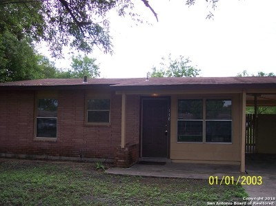 San Antonio Single Family Home Back on Market: 118 Baywell Dr