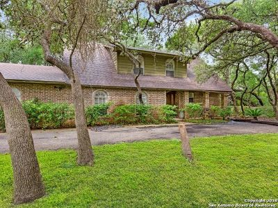 San Antonio Single Family Home New: 25755 Bulverde Rd