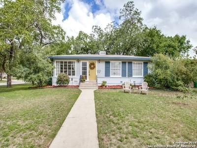 San Antonio Single Family Home New: 405 Harmon Dr