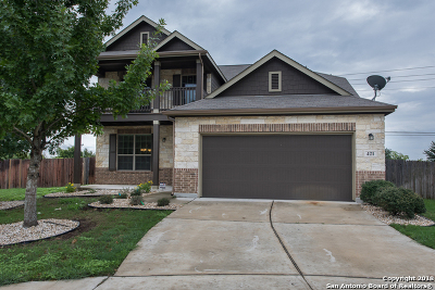 Cibolo Single Family Home New: 421 Cattle Run