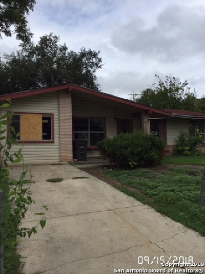Bexar County, Comal County, Guadalupe County Single Family Home New: 2107 Harry St