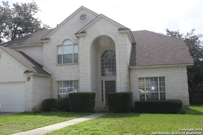 San Antonio Single Family Home New: 1710 Sandringham