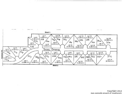 Guadalupe County Residential Lots & Land New: 1143 Lance Xing
