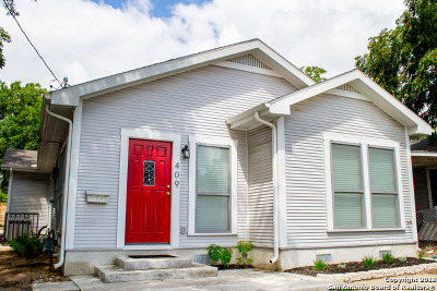 Bexar County Single Family Home New: 409 Quitman St