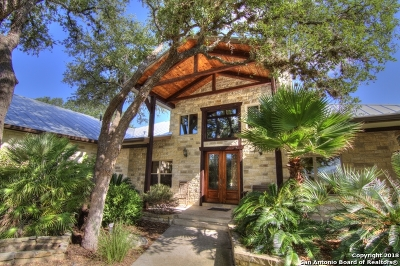 Boerne TX Single Family Home New: $875,000
