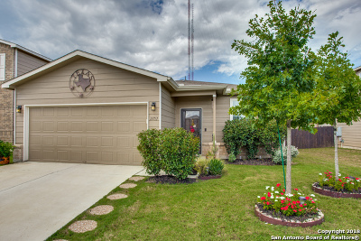Bexar County Single Family Home New: 11711 Silver Horse