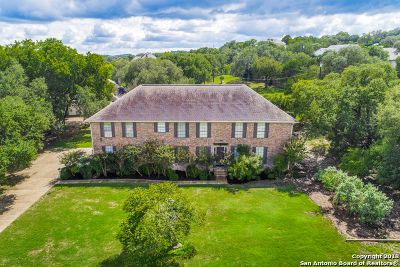 Boerne Single Family Home New: 26880 Nelson Hl