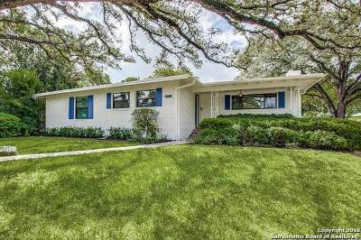 San Antonio Single Family Home New: 202 Oakleaf Dr