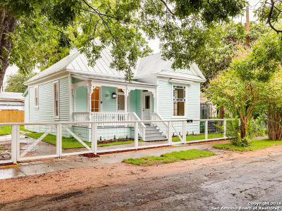San Antonio Single Family Home New: 121 San Arturo St