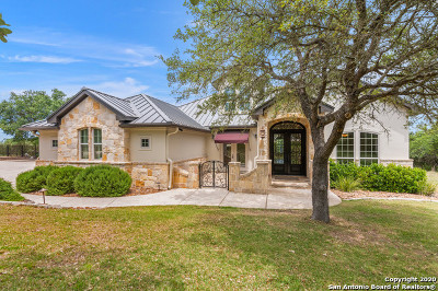 Boerne Single Family Home For Sale: 75 St Andrews