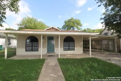 San Antonio Single Family Home New: 831 McCauley