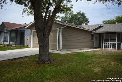 San Antonio Single Family Home New: 6741 Hickory Springs Dr