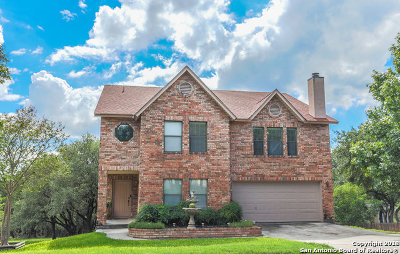 San Antonio Single Family Home New: 17322 Sapphire Rim Dr