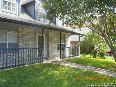 San Antonio Single Family Home New: 11407 Bear Paw Path