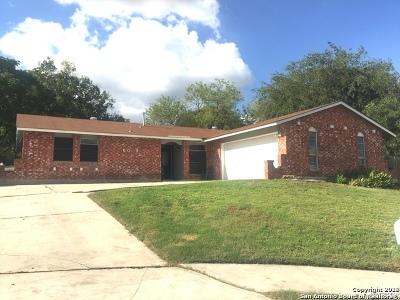 San Antonio Single Family Home New: 6019 White Cloud