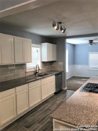 San Antonio Single Family Home Price Change: 2430 Waverly Ave