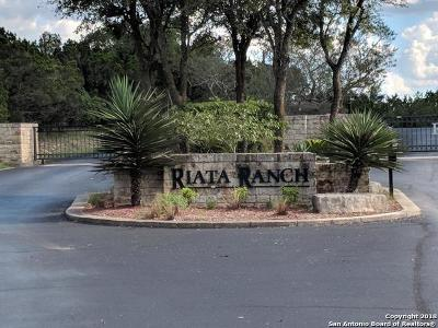 Bexar County Residential Lots & Land For Sale: 27881 Riata Ranch Dr