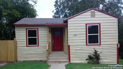 San Antonio Single Family Home New: 1811 Gorman