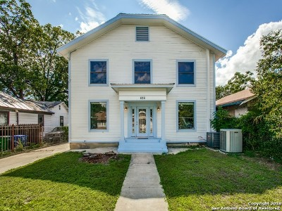 San Antonio Single Family Home New: 626 E Evergreen St