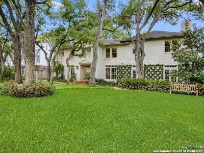 San Antonio Single Family Home Back on Market: 143 Park Hill Dr