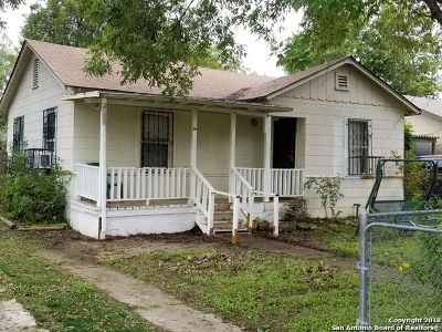 San Antonio Single Family Home New: 1430 Mardell St