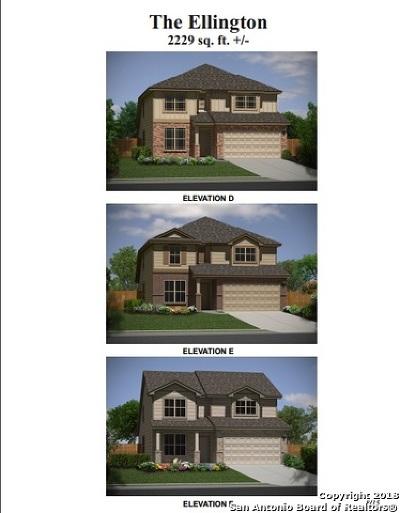 San Antonio Single Family Home New: 6123 Travis Summit