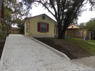 San Antonio Single Family Home New: 628 W Norwood Ct