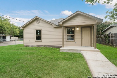 San Antonio Single Family Home Active Option: 1831 Barney Ave